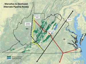 Map by Appalachian Mountain Advocates.